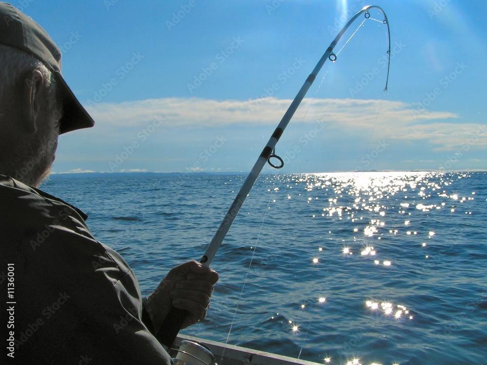 Fototapeta deep sea fishing 3