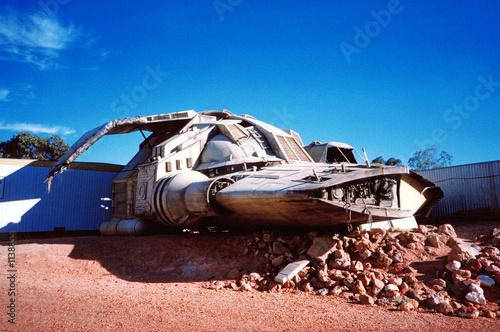 Türaufkleber UFO vaisseau spatial