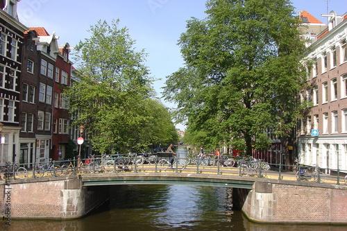 Photo amsterdam seven bridges
