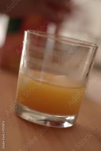 Fotografie, Obraz verre de jus d'orange
