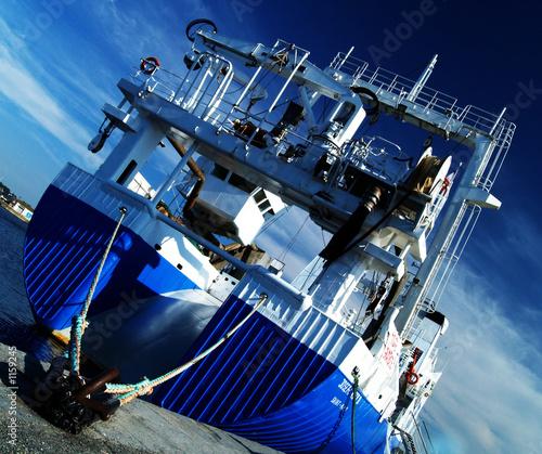 Fotografia, Obraz blue boat