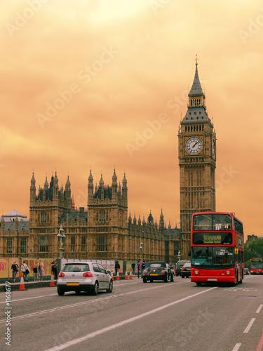 Poster London london street