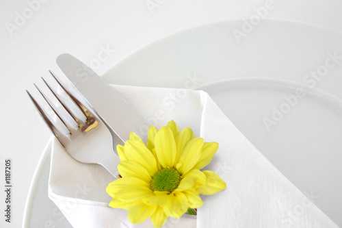 Photo Stands Ready meals creative place setting