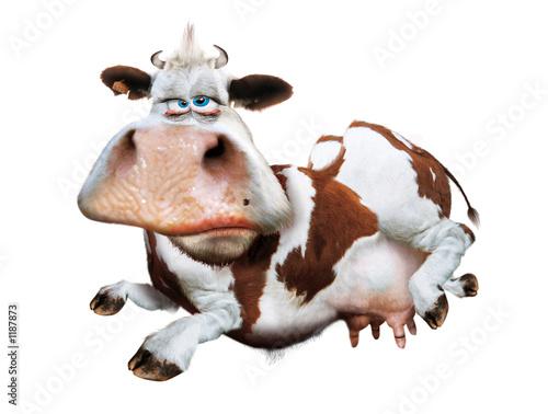 Canvas vache détourée