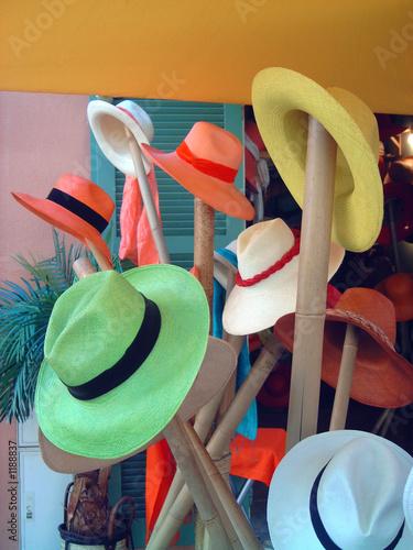 Cuadros en Lienzo boutique de chapeaux