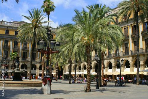 Staande foto Barcelona spain plaza