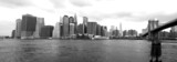 Fototapeta City - new york skyline from brooklyn