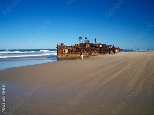 Foto-Leinwand - paysage australie