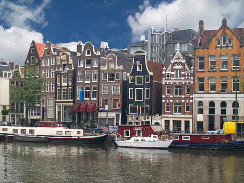 Photo Stands Lavender canales de amsterdam