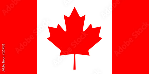 canadian flag Fototapeta