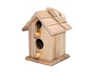 Birdhouse On Isolated White