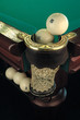 canvas print picture - russian billiard