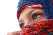 canvas print picture - arabische augen 5