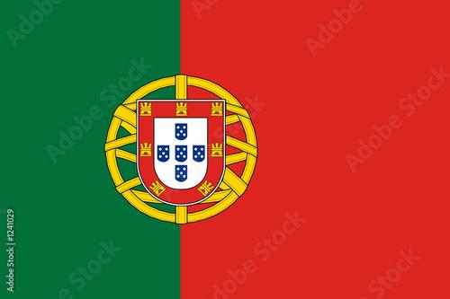 Fotografie, Obraz  flag of portugal