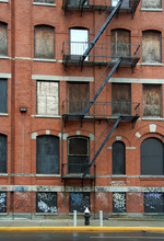 Warehouse With Fire Escape
