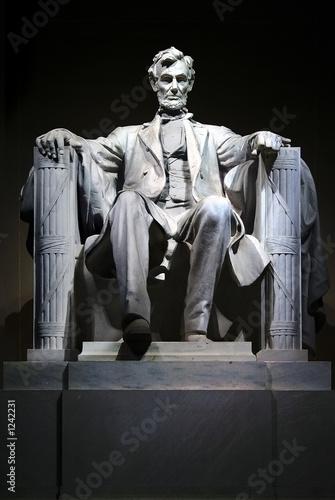 Fotografia  lincoln memorial statue