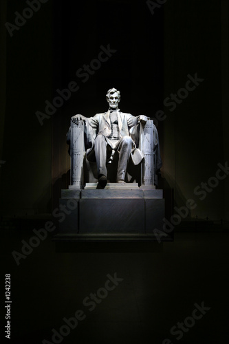 Photographie  lincoln memorial statue