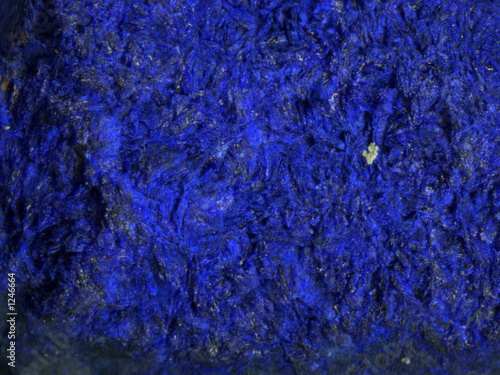azurite crystal Canvas Print
