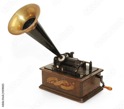 Cuadros en Lienzo gramophone