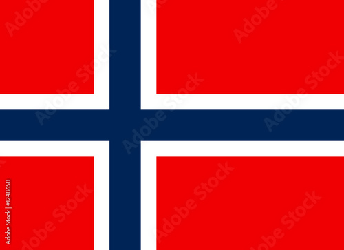 flag of norway фототапет