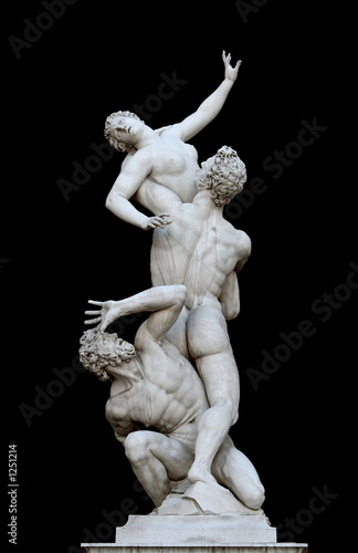 Fotomural the rape of the sabine women