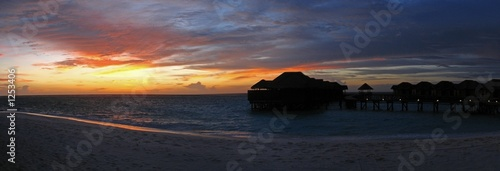 Photo sunset fihalhohi