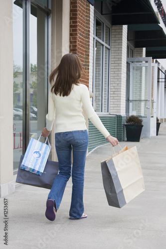 Valokuvatapetti shopping