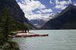lake louise with canoe rental