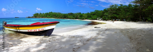 winnifred beach, jamaica Canvas-taulu