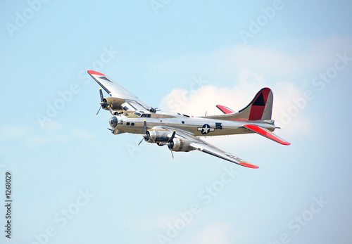 Fotografie, Obraz  b-17 flying fortress