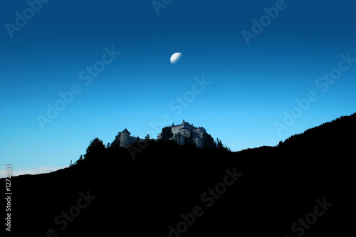 under the moon Tablou Canvas