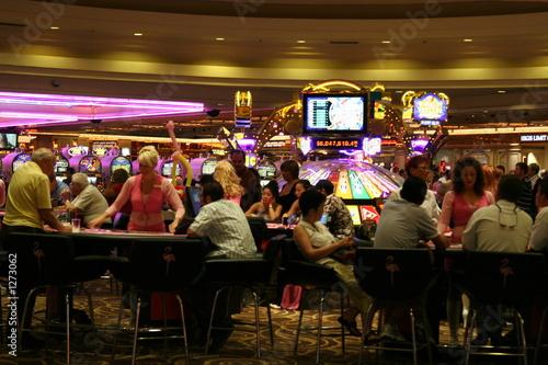 Tuinposter Las Vegas intérieur d'un casino