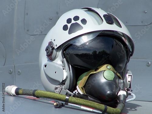 Photo casque de pilote