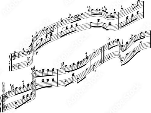 musical notes #1284047