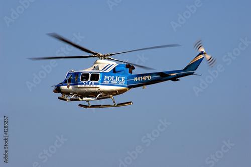Türaufkleber Hubschrauber nypd helicopter