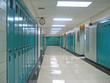canvas print picture - school hallway