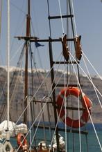 Life Buoy & Yacht