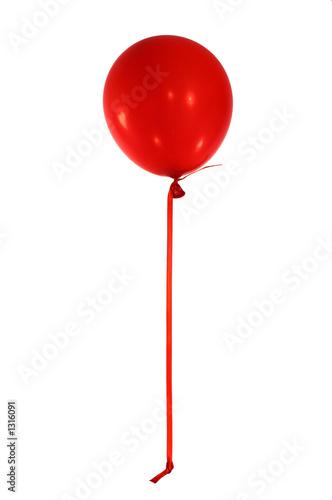 Photo  red balloon