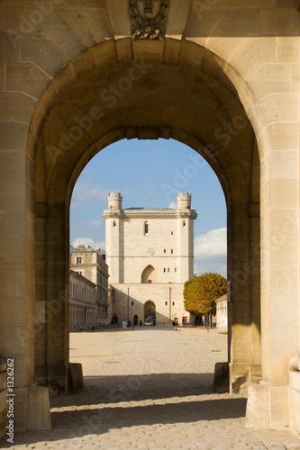 Fototapeta vincennes castle tower obraz na płótnie