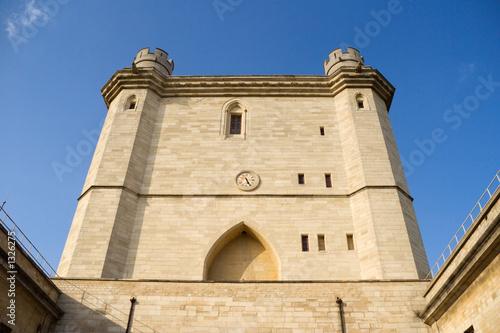 Poster Artistiek mon. vincennes castle tower
