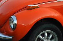 Orange Beetle Car Front