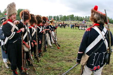 French Napoleonic Soldier, Borodino 2006