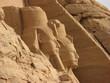 canvas print picture - temple d'abou simbel