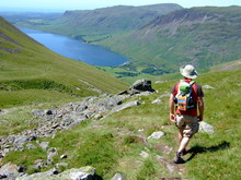 Descending From Scafell Pike