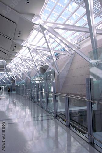 Keuken foto achterwand Industrial geb. airport interior