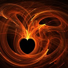 Connected Burning Hearts