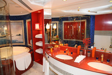 Luxury Bathroom At Hotel