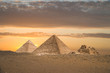 canvas print picture ancient pyramids