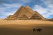 Leinwandbild Motiv pyramids in egypt