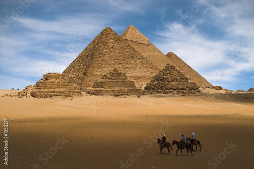 Poster Egypte pyramids in egypt